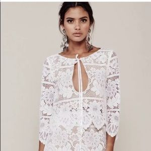 For love and lemons Gianna crop top